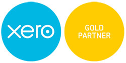 Xero Gold Partner Logo Hires RGB
